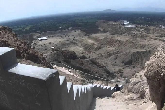 Pyramids of Túcume in peru