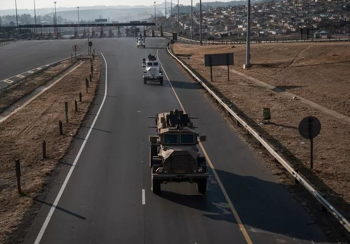 After more than 200 deaths, peace seems to have returned in South Africa