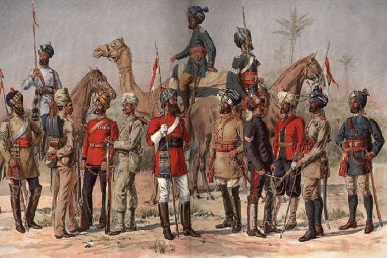 What causes the Sepoy mutiny: The bloody Indian rebellion