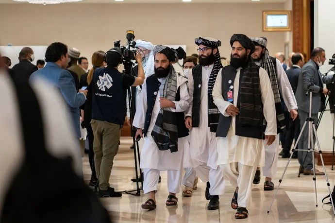 Taliban demanded the resignation of the Afghan president