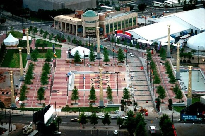 Centenary Olympic Park, 1996