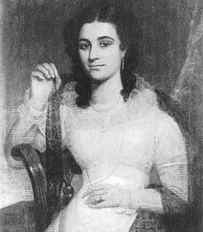 Maria Bauter, the late wife of Gregor McGregor