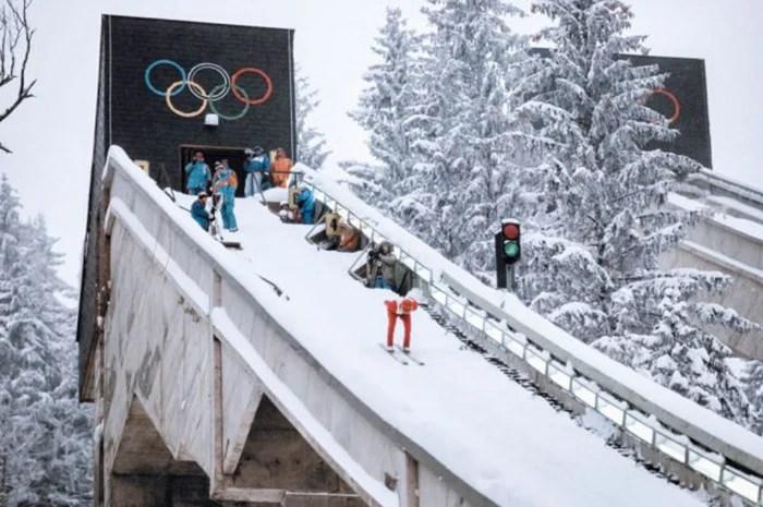 Olympic Ski Jumping Track