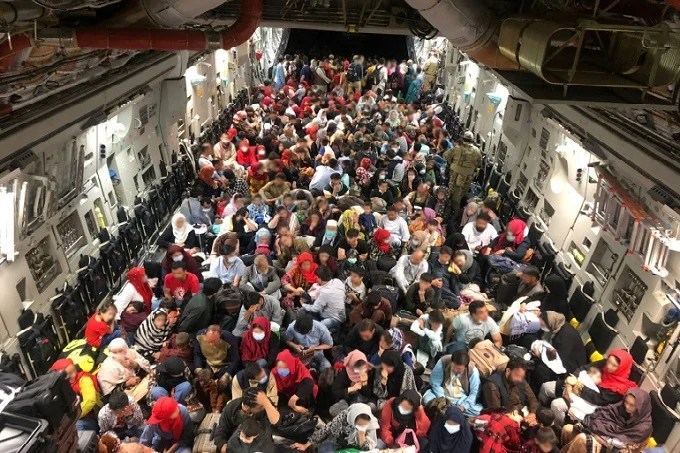 19,000 people evacuated from Kabul in the last 24 hours