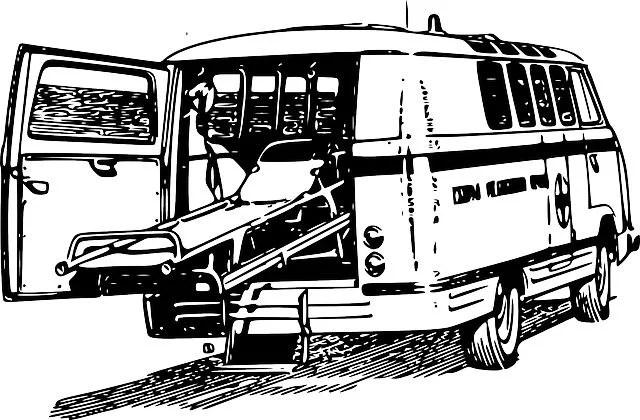 Modern ambulance