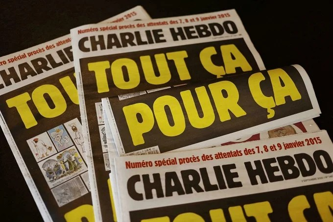 Publication on French newspaper
