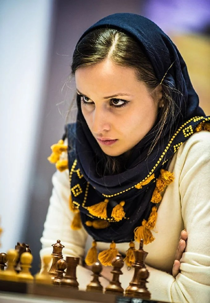 When Dorsa played for Iran, she honestly followed all the rules