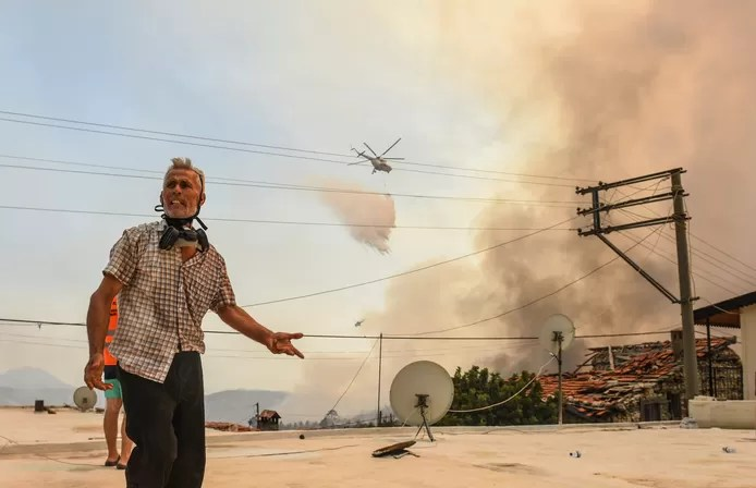 Almost all forest fires in Turkey under control, misery in Bodrum and Marmaris not over yet