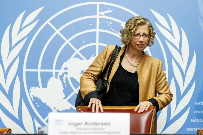 Inger Andersen, economist and director of the United Nations Environment Programme.