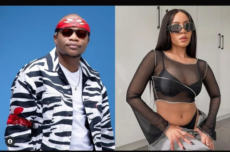 Is Thuli Phongolo in a relationship with Master KG?