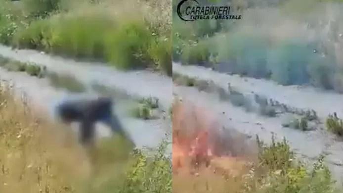 Italian pyromaniac arrested thanks to hidden cameras