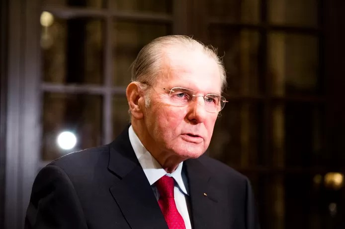 Former IOC president Jacques Rogge (79) passed away