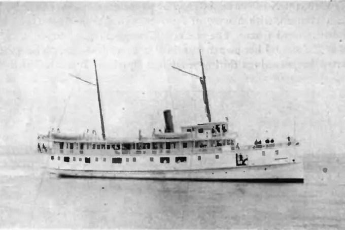 "Missing passengers on the ship ""Rosalia"""