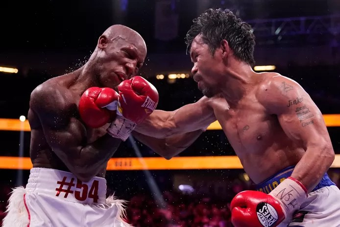 Career end for Manny Pacquiao (42) after losing world title fight against Yordenis Ugas?
