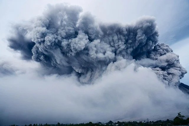 Volcanic eruption causes new island to emerge in Japan - videos