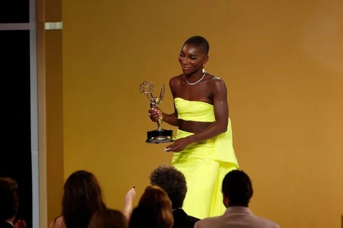 First Black woman to win Emmy award for Outstanding Writing