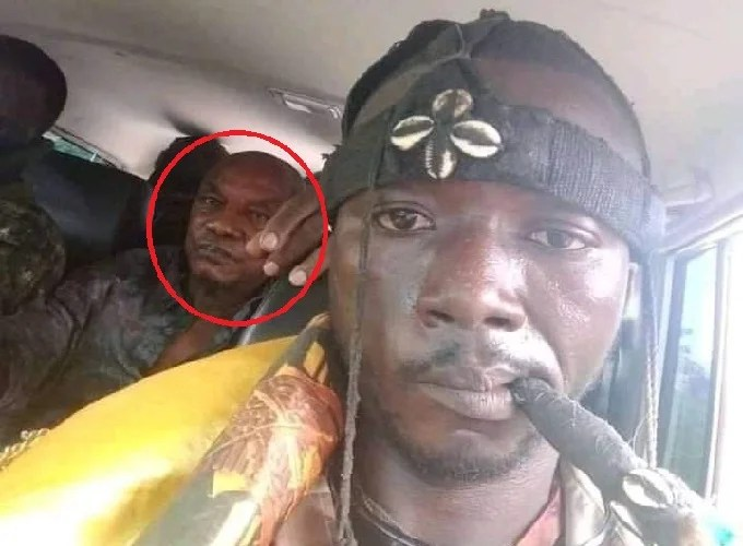 """""""Voodoo Priest"""" seen during the arrest of Alpha Condé: Truth about the viral image"""