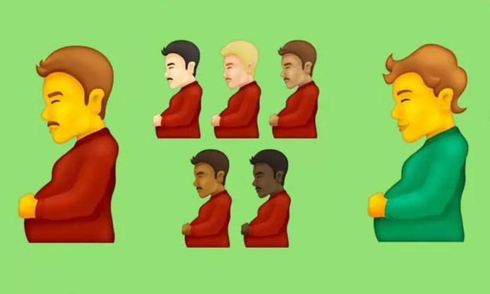 New emojis release: Pregnant man, beans and slide for smartphones