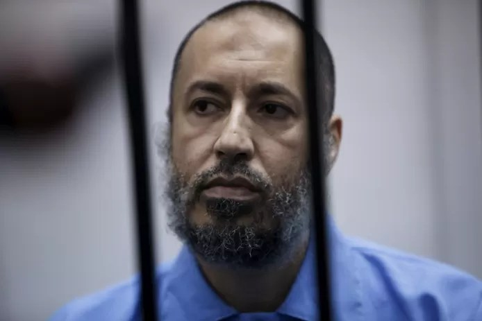 Gaddafi's son freed after seven years