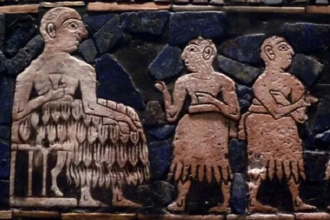 The longer the skirt was, the richer the Sumerian