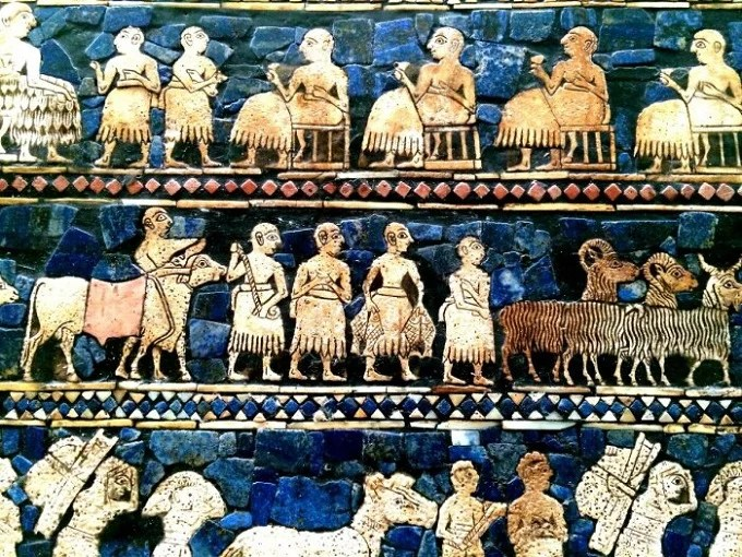 Agriculture was the main occupation of Sumerians.