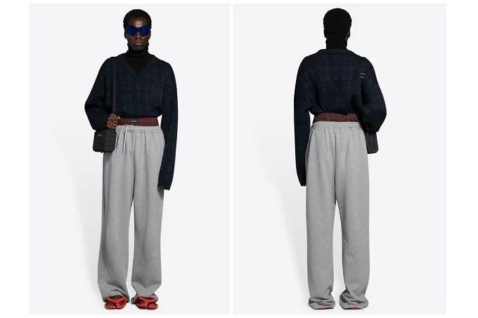 Balenciaga under fire for overpriced sweatpants 'stolen' from hip-hop culture