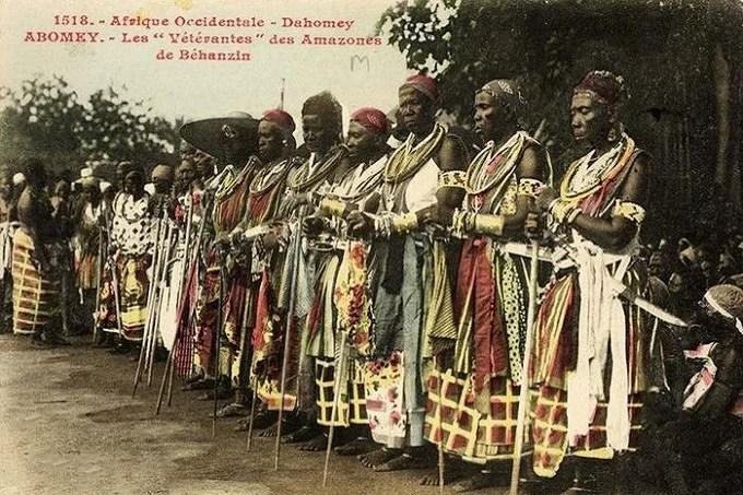 Assembly of Women of Dahomey Amazons