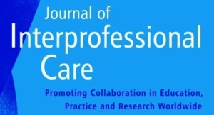 Themed edition of the International Journal of Interprofessional Care