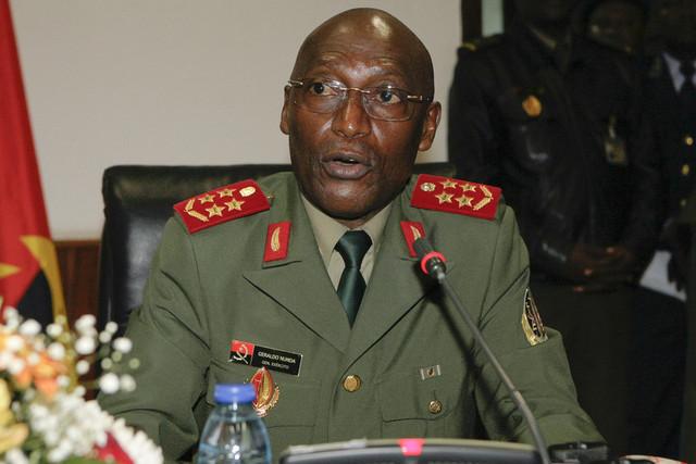 Angola: limogeage du patron de l'armée à son tour victime de la lutte anticorruption