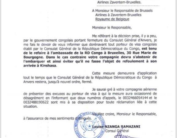 RDC: pour aller au Congo, il y a visa et visa