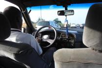 Une course en taxi coûte entre 500 et 3.000 francs CFA à Dakar / In Dakar, a taxi ride costs between 500 and 3.000 francs CFA