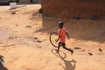 Dans le village baoulé de Kondrobo / In the Baoulé village of Kondrobo