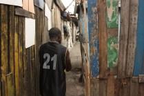 Les pêcheurs de Jamestown vivent dans des cabanes de quelques mètres carrés / Fishermen of Jamestown live in shacks not bigger than a few square meters