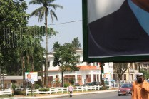 Omni-président Paul Biya, à Douala / Omnipresident Paul Biya, in Douala