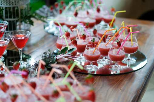 cocktails for bridal parties