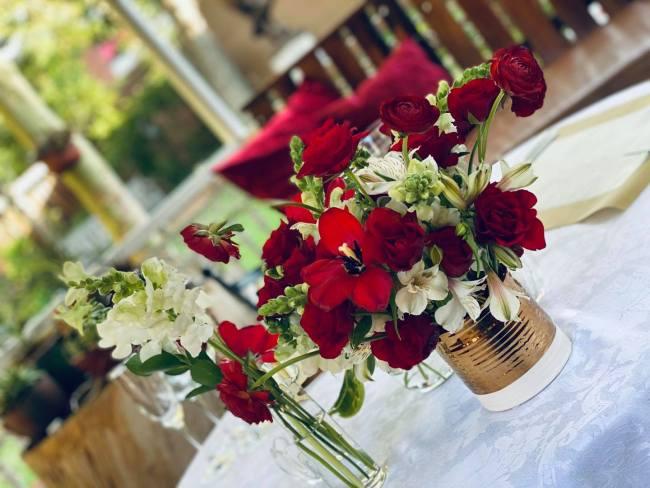 romantic restaurant johannesburg