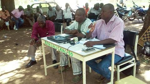 Fête du travail à Gaoua: Les travailleurs se sont retrouvés à leur piquet de grève habituel