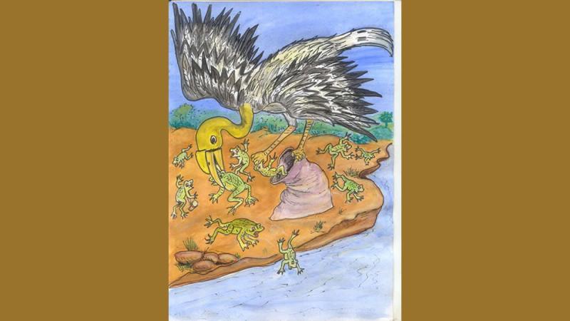 Conte du Mali – Les funérailles du grand Calao