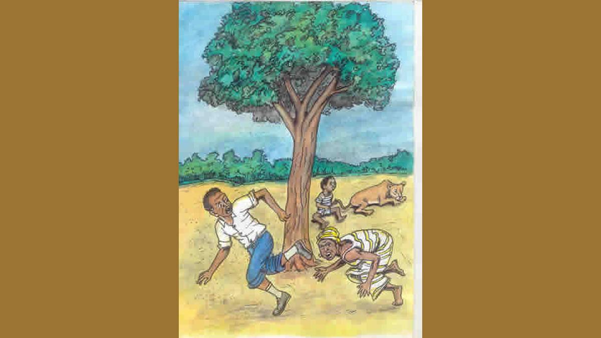 Conte de Mauritanie – Le jeune homme et le lion