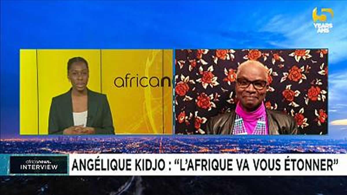 Angélique Kidjo : «L'Afrique va vous étonner» [Entretien Africanews.com]