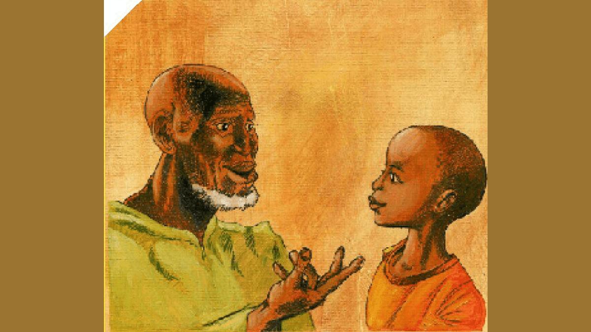 Proverbe Afrique – Ce que le vieux voit assis