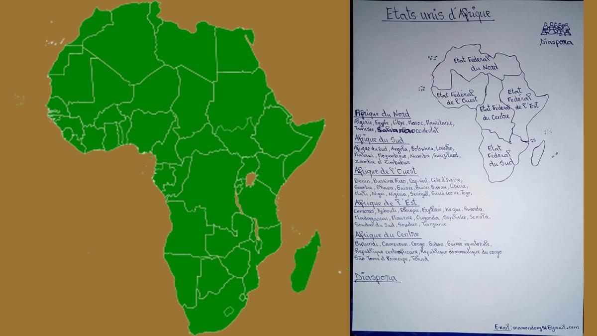 Les Etats Unis d'Afrique maintenant