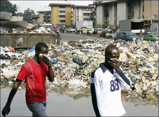 L'Afrique et la pollution