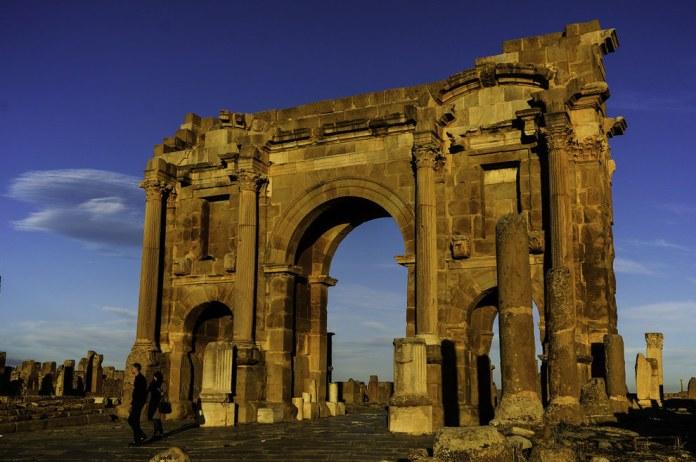 Arc de Trajan, Timgad
