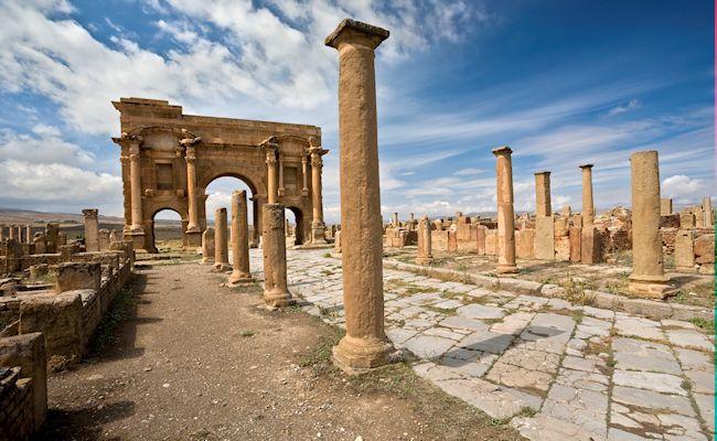 Algérie - Ruines romaines de Timgad