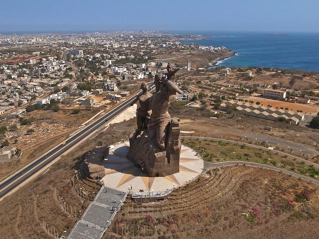 Monument de la renaissance africaine, Dakar, Sénégal