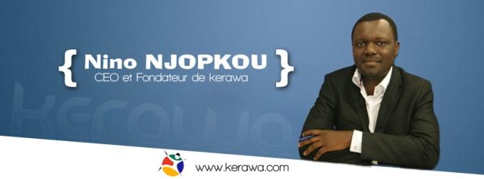 Nino Njopkou fondateur de kerawa.com