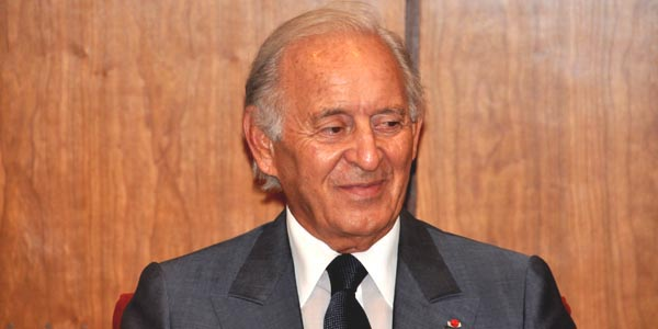 Othman Benjelloun (Maroc) 2,8 milliards de dollars