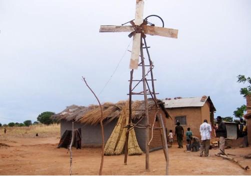 Moulin à vent générateur d'éléctricité