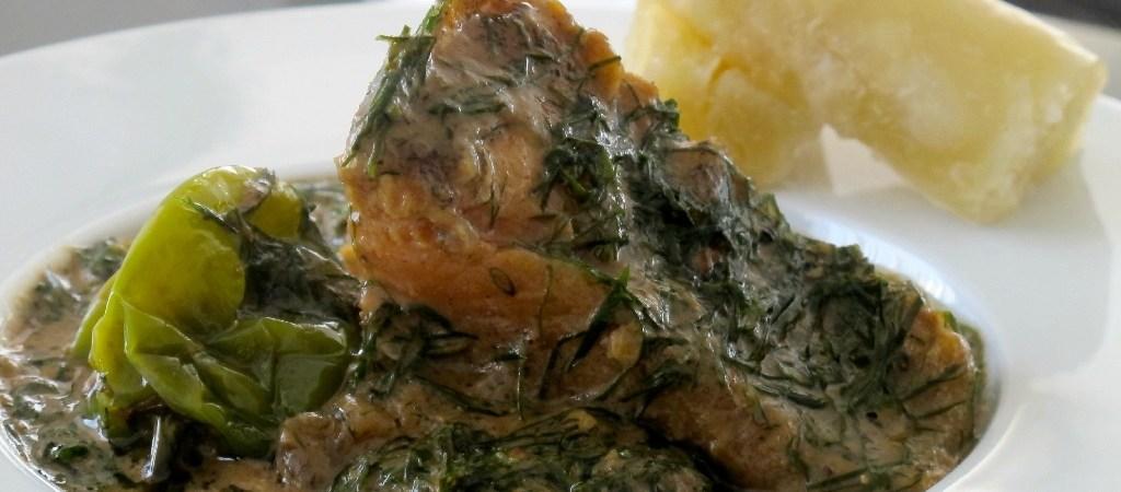 Fumbwa ou 3 pièces congolais: détour culinaire au pays de la sapologie !